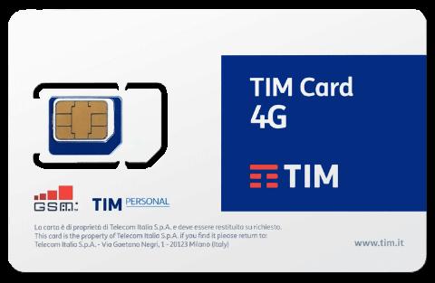 SIM e abbonamenti TIM